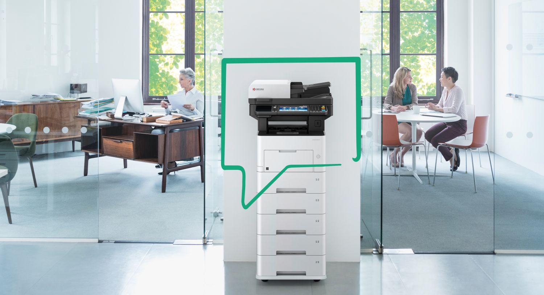Kyocera Drucker in einem Büro